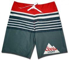 3925212a1c Coors Light Board Shorts Light Board, Coors Light, Awesome Stuff, Swim  Trunks,