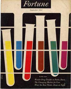 Walter Allner cover from 1953. #design #science