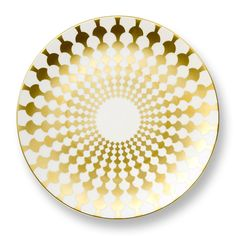Grande Zelda Bone China Charger Plate in Gold design by B by Brandie Contemporary Dinnerware Sets, Scott And Zelda Fitzgerald, Gold Chargers, Charger Plates, Plate Chargers, Gold Set, Gold Gold, Plate Sets, Bone China