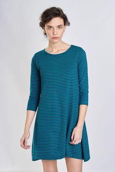 Organic Cotton Striped Tunic