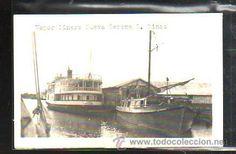 TARJETA POSTAL DE ISLA DE PINOS - VAPOR PINERO. NUEVA GERONA. (Postales - Postales Extranjero - América - Cuba)