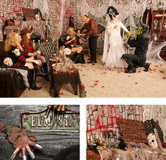 horror movie themed Halloween party via @buycostumes  #ad #orangetuesday