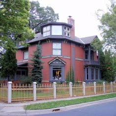 The Cyrus B. Cobb House is a home built ca. 1885-1889 in White Bear Lake, Minnesota. The solid brick house was designed in the Queen Anne architectural style.