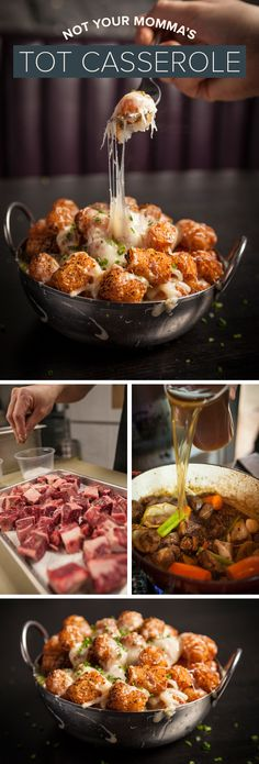 Billy Dec's cheesy tot casserole is the perfect thing to warm you up on a winter day.
