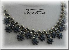 collier Istra noir or1
