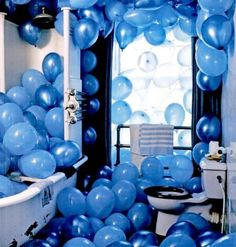 I was once promised 100 helium balloons for my birthday. I always wished that promise wasn't broken.