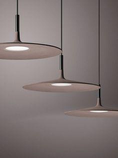A Super Thin Concrete Lamp From Foscarini