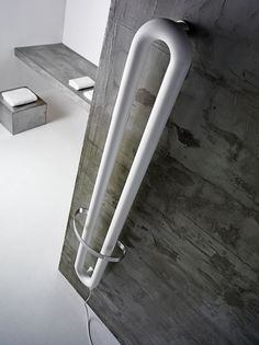 In this post you will find the information and pictures about Towel radiator electric - Modern bathroom heating method, bathroom accessories, useful tips, etc. Small Bathroom Furniture, Bathroom Interior, Modern Bathroom, Towel Heater, Contemporary Radiators, Bathroom Suppliers, Bathroom Radiators, Vertical Radiators, Towel Radiator