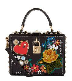 700f4f1457 DOLCE  amp  GABBANA Embellished Top Handle Bag.  dolcegabbana  bags  shoulder  bags