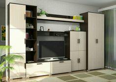 Стінка Bedroom Bed Design, Interior Design Living Room, Living Room Designs, Tv Cupboard Design, Kitchen Cabinet Design, Painel Tv Sala Grande, Modern Tv Wall Units, Home Goods Decor, Home Decor