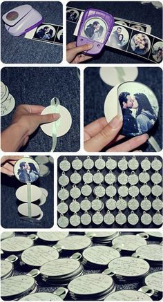 how to make the round invitation...