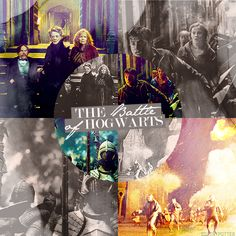 Today is the 16th anniversary of the Battle of Hogwarts. Let's all just think about that for a little while...