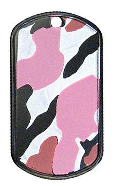 Kids-Army.com - Camouflage Dog Tag - Pink Camo, $2.99 (http://www.kids-army.com/products/Camouflage-Dog-Tags-%2d-Pink-Camo.html)