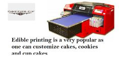 Edible Ink Printer, Edible Printing, Confectionery, Bakery, Canning, Prints, Home Canning, Conservation, Bakery Business
