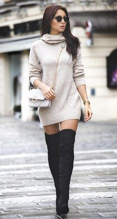 25 Perfect and Stylish Boots to Spice Up Your Winter Outfit Source by Miaolazaba outfits invierno Winter Fashion Outfits, Look Fashion, Autumn Fashion, Womens Fashion, Holiday Fashion, Dress Fashion, Fashion Boots, Fashion Tips, Winter Mode Outfits