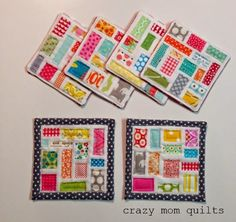 even more scrap projects | crazy mom quilts | Bloglovin'