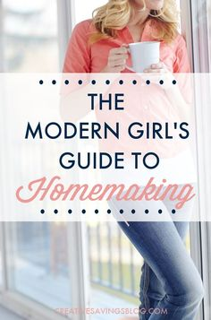 Have you ever looked at your home and wondered where to start or how to manage it, without turning into a housewife? The Modern Girl's Guide to Homemaking shows you how to run a successful home in the century, and fits with your lifestyle and schedule! 1950s Housewife, Vintage Housewife, Christian Homemaking, Home Management, Stay At Home Mom, Homekeeping, Domestic Goddess, Good Wife, Girl Guides
