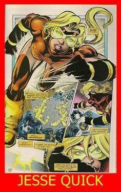 """Planche de """"Jessie Quick"""".  Page of """"Jessie Quick"""" graphic novel."""
