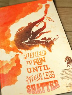 PETA Horse Racing by Jordan Lemke, via Behance