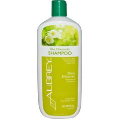 Aubrey Organics, Blue Camomile Shampoo, Classic Blue Chamomile Scent, Normal, 16 fl oz (473 ml)