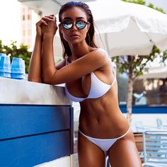 Pia Muehlenbeck left behind a lucrative law career to become a model.. And judging by these photos, it looks like she made the right decision!