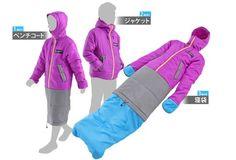 7d4fa5b08aa8 Doppelganger Jacket Transforms Into a Wearable Sleeping Bag