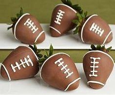 Good idea for an easy Super Bowl dessert!