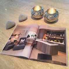 Vi har levert steinplater til 2 kjøkken i nyeste utgave av Maisoninterior - interiør | interior | design
