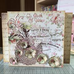 Crafters Companion, shabby chic