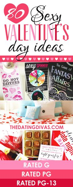Valentine's Day is covered! I can't wait to get started on some of these ideas! www.TheDatingDivas.com
