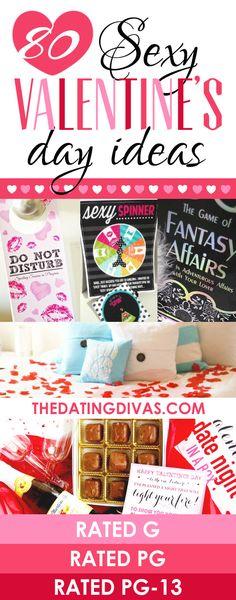 80 Sexy Valentine's Day Ideas!! LOVE these!!