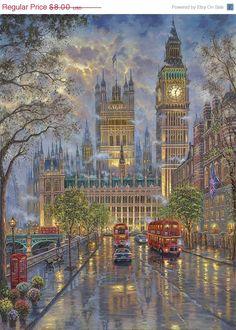 Counted Cross Stitch Pattern London