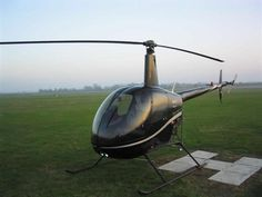 Robinson R22 The funnest helicopter to fly. Pretty afordable as far as helicopters go.