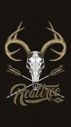 Realtree Deer Skull T-Shirt on Behance Realtree Wallpaper, Hunting Wallpaper, Camouflage Wallpaper, Deer Wallpaper, Cute Wallpaper Backgrounds, Country Backgrounds, Iphone Backgrounds, Bow Hunting Tattoos, Antler Tattoos