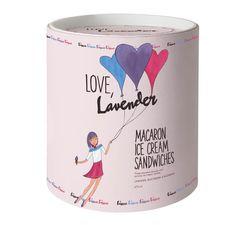 Love Lavender Ice Cream Pot