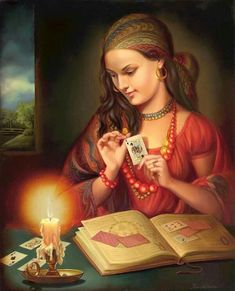 f Gypsy Seer fortune teller Gypsy Fortune Teller, Historical Romance Novels, Gypsy Women, Animated Gifs, Gypsy Witch, Gypsy Life, Fortune Telling, Tarot Readers, Oracle Cards