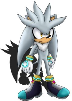 Silver The Hedgehog by Shadoukun on DeviantArt Silver The Hedgehog, Shadow The Hedgehog, Sonic The Hedgehog, Triad Color Scheme, Saga Comic, Sonamy Comic, Sonic Underground, Sonic Franchise, Sonic And Shadow