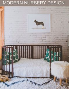 Modern Nursery Design with Stokke Sleepi Crib as Junior Bed via PROJECT NURSERY JUNIOR @JodiKendall