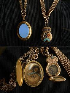 vintage lockets.