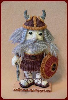 Viking amigurumi