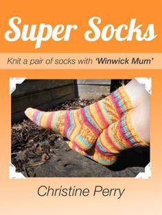Basic 8ply (DK) boot socks - free pattern and tutorial – Winwick Mum Knitting For Beginners, Easy Knitting, Knitting Socks, Knitting Patterns, Knit Socks, Knitting Ideas, Knitting Designs, Knitting Projects, Crochet Patterns