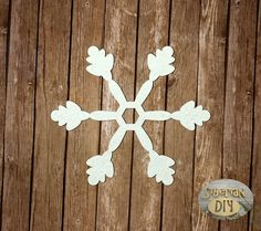 "Laser Cut Chipboard ""Snowflake [11]"" by SiberianDIYcraftsArt on Etsy"