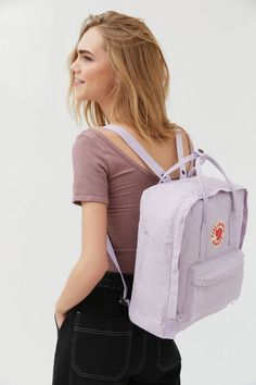 Shop Fjallraven Kanken Backpack at Urban Outfitters today. We carry all the latest styles, colors and brands for you to choose from right here. Indie Outfits, Hard Wear, How To Wear, Grunge, Fila Disruptors, Denim Tote Bags, Cute Backpacks, Small Shoulder Bag, Shoulder Straps