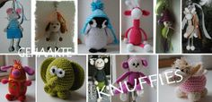 Knuffies - cute animal patterns free