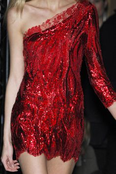Balmain Fall red sparkle