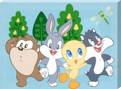 Baby Taz, Bugs, Tweety & Sylvester - Baby Looney Tunes