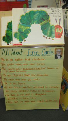 K-Author study, Eric Carle