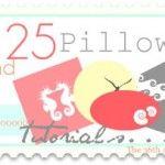 25 pillow tutorials