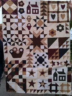 Urban Style: Sampler Quilts (by my students)