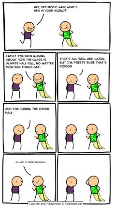 Are not Cyanide comic strip remarkable